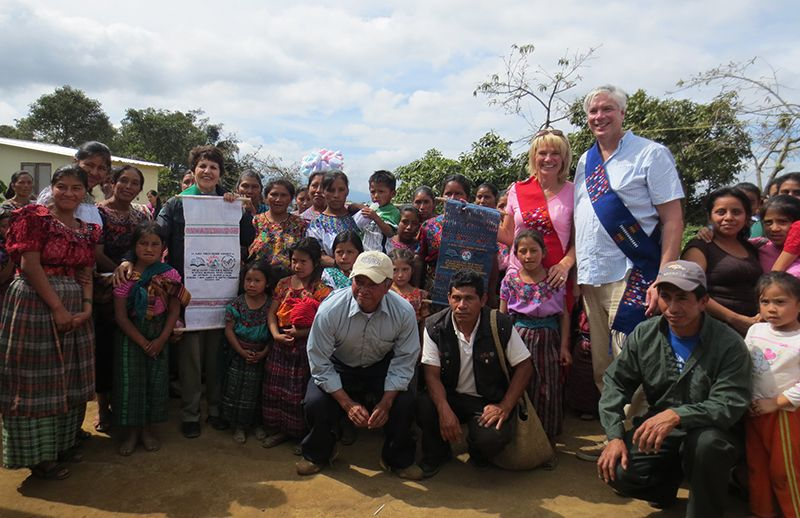 CEPA's charitable project in Vuelta Grande, Guatemala