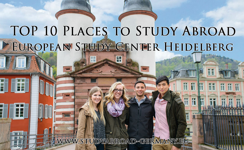 European Study Center (ESC) Heidelberg - one of the ten best places to study abroad