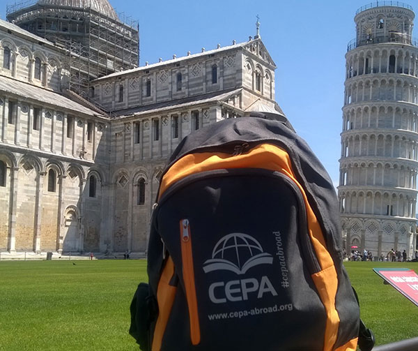 CEPA on-site coordinator backpack